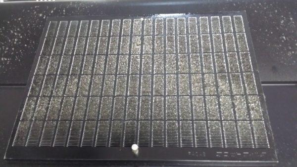 坂井市S宅レンジフードのフィルター洗浄